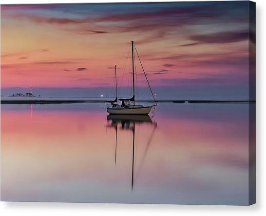 Awaiting   Canvas Print