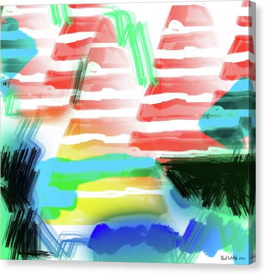 Imaginary Worlds Canvas Print - Awakatek by Paul Sutcliffe