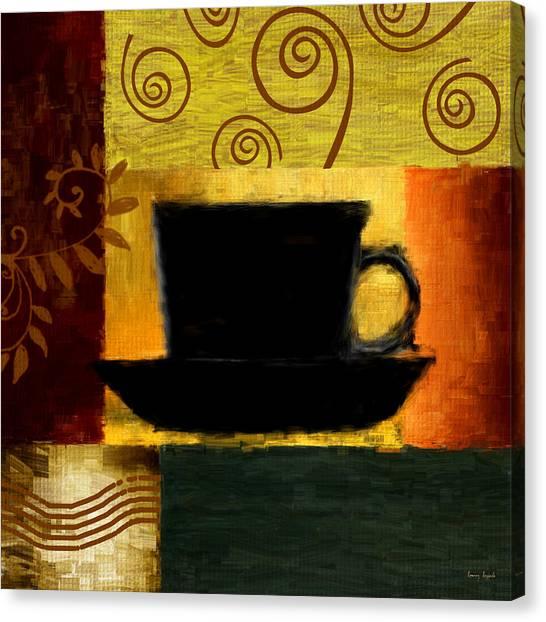 Coffee Grinder Canvas Print - Awakening by Lourry Legarde