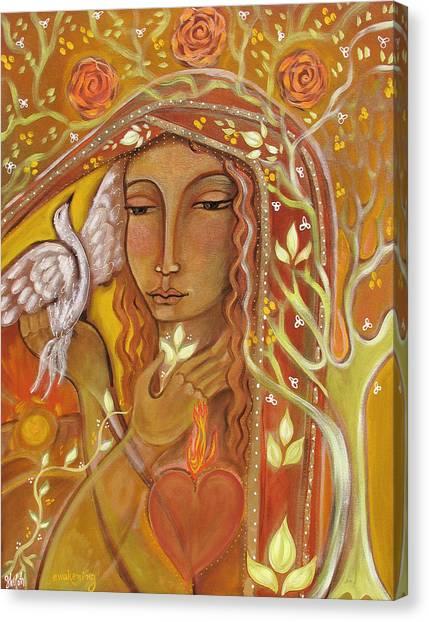 Blooming Tree Canvas Print - Awakening by Shiloh Sophia McCloud