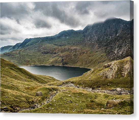 Canvas Print featuring the photograph Awesome Hike by Nick Bywater
