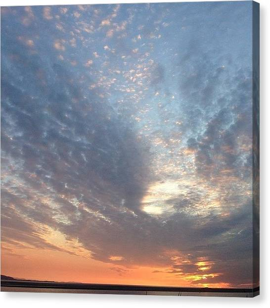 Kirby Canvas Print - Awesome Sky by Helen Smith