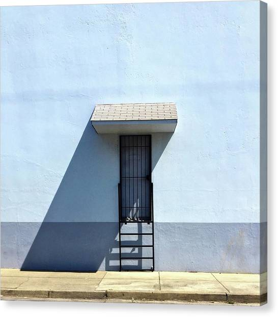 Canvas Print - Awning Shadow by Julie Gebhardt
