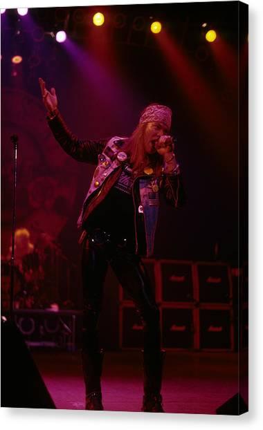 Axl Rose Of Guns N' Roses Canvas Print