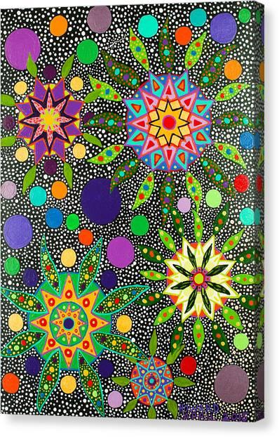 Ayahuasca Vision May 2015 Canvas Print