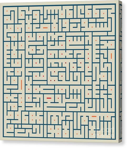 Ayat Ul-kursi04 Canvas Print