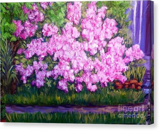 Azalea Spring Canvas Print