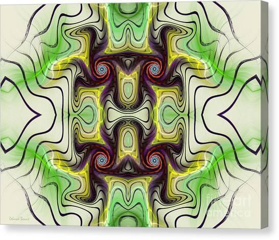Aztec Art Design Canvas Print
