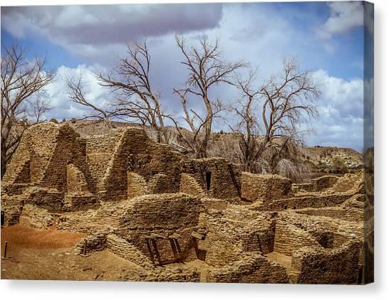 Aztec Ruins, New Mexico Canvas Print