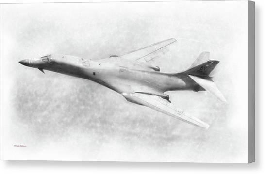 B-1b Lancer Canvas Print