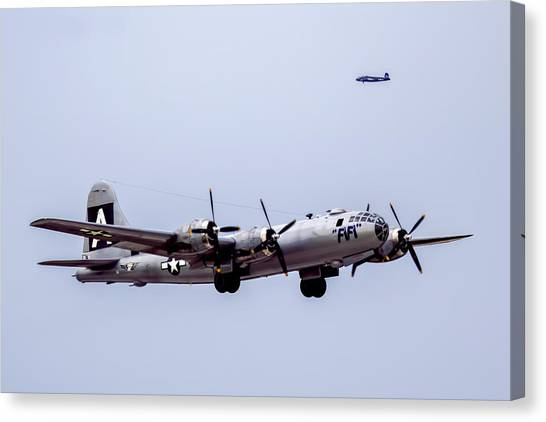 B-29 Superfortress Canvas Print