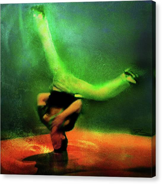 B-boy Canvas Print