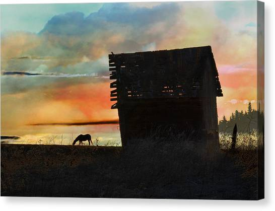 B. C. Barn # 1672 Canvas Print