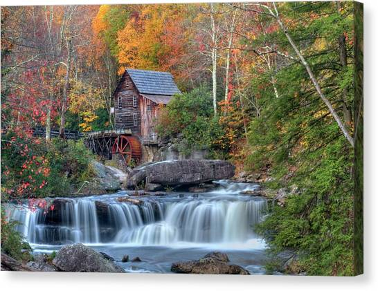 Babcock Grist Mill  II Canvas Print