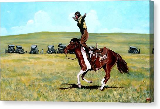 Babette Rides Again Canvas Print