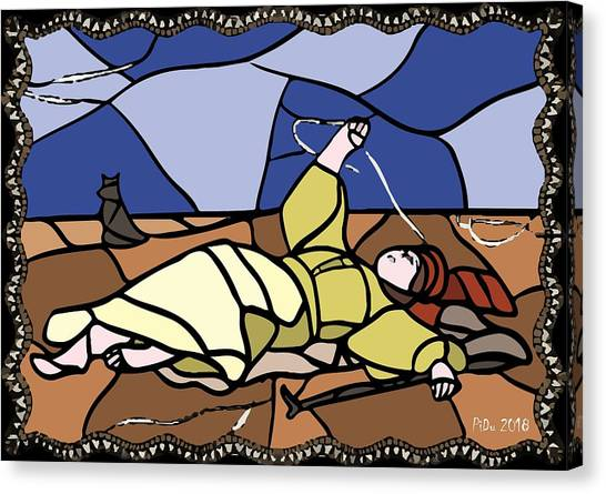 Babie Lato Stained Glass Version Canvas Print