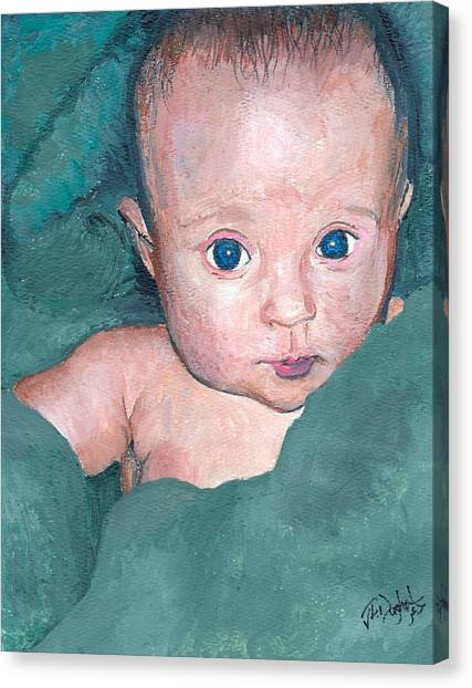 Baby A Canvas Print