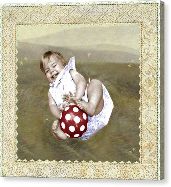 Baby Ball Canvas Print