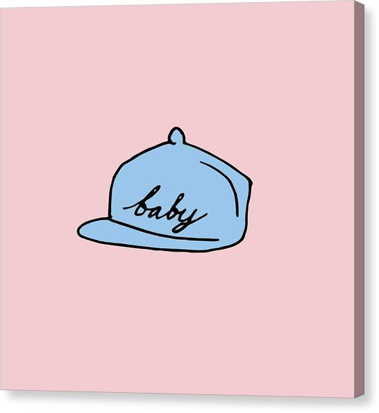 Baby Hat 2 Canvas Print