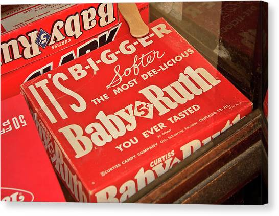 Baby Ruth Canvas Print