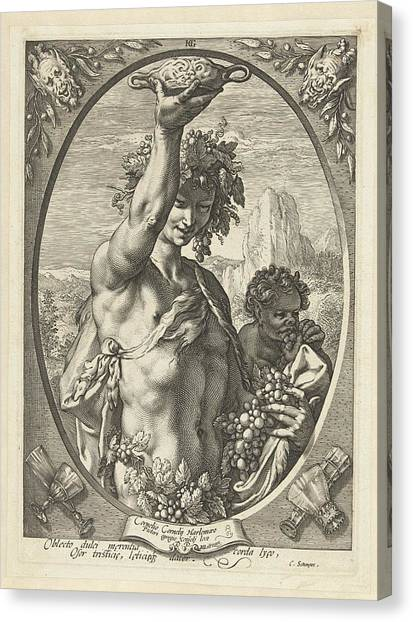 Bacchus God Of Ectasy Canvas Print