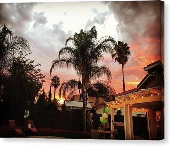 Bachelorette Canvas Print - #bachelorette #sunset by Tiffany Marchbanks