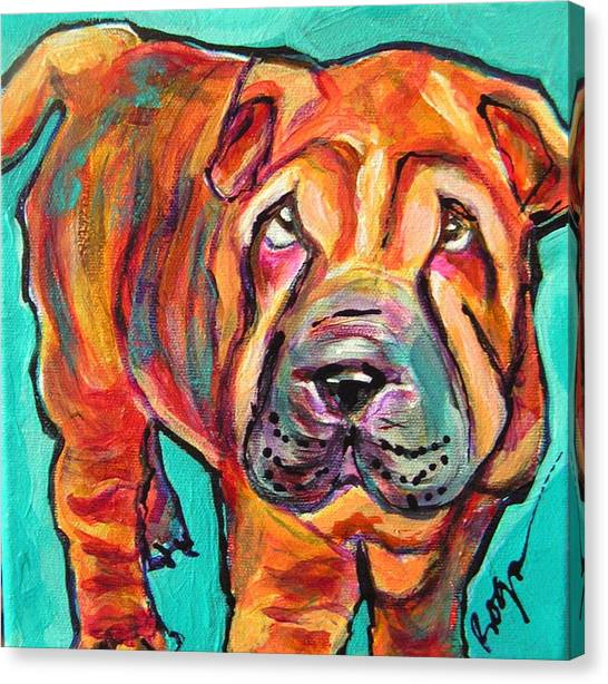 Baci Boy Canvas Print