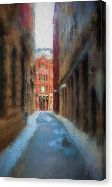 Back Bay Boston Canvas Print