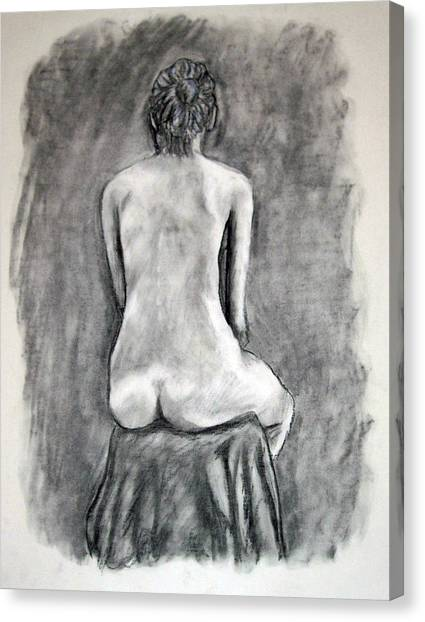 Back Beauty Canvas Print
