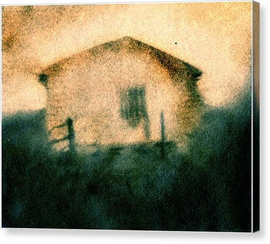 Back Of Ther Back Canvas Print by Diana Ludwig