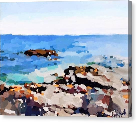 Back Shore, Gloucester, Ma Canvas Print