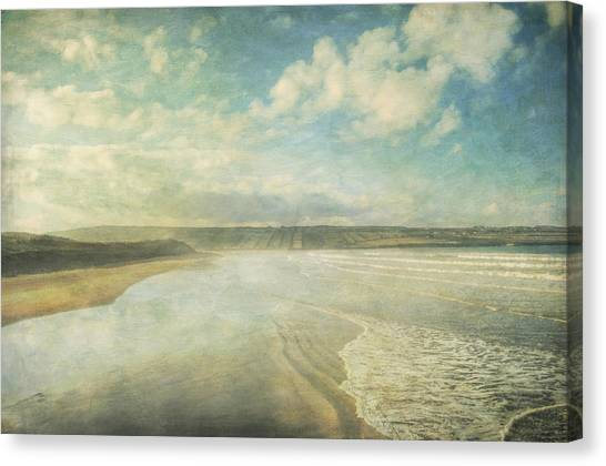 Back Strand 6 Canvas Print