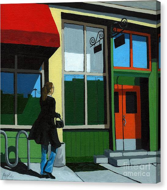 Back Street Grill - Urban Art Canvas Print