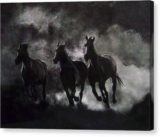 Back To The Wild Canvas Print