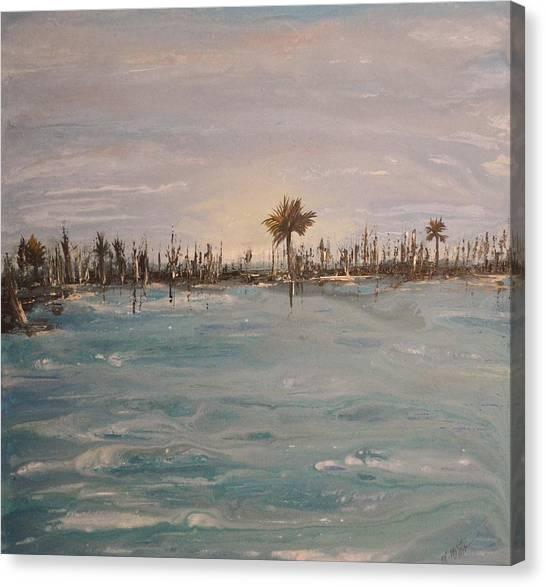 Backbay No. 403 Canvas Print