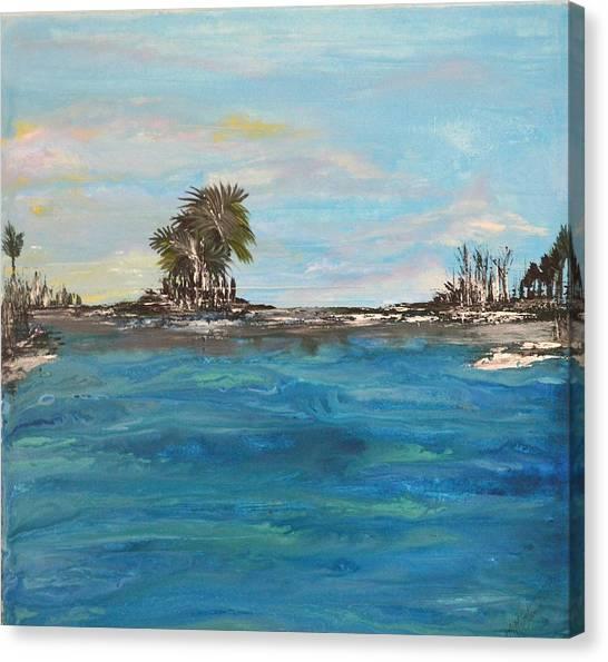 Backbay No. 404 Canvas Print