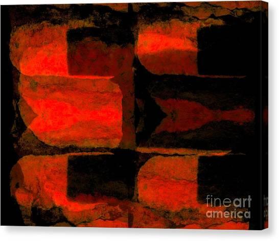 Colour Choice Stone Abstract Canvas Print