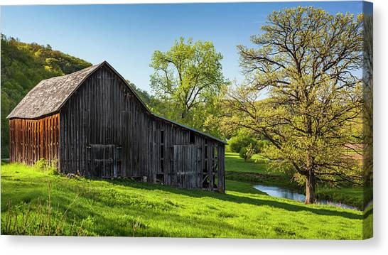 Bad Axe Barn Canvas Print