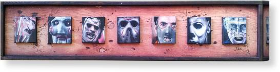 Silence Of The Lambs Canvas Print - Bad Guys by Jeremy Hamilton