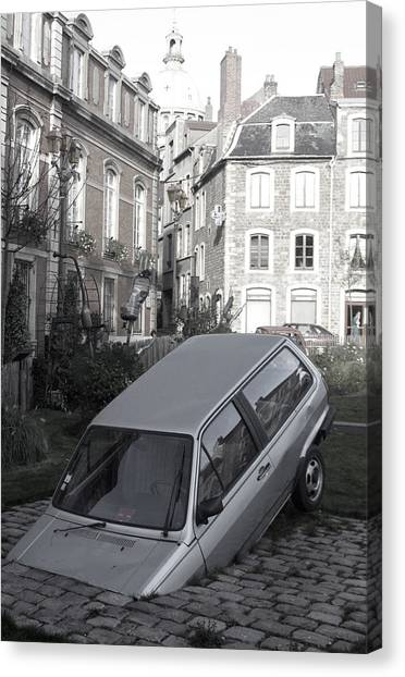 Bad Parking Canvas Print by Jez C Self