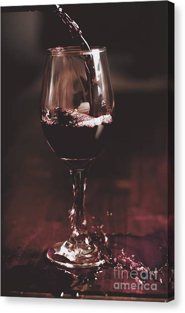 Drunk Canvas Print - Bad Table Service With A Pour Aim by Jorgo Photography - Wall Art Gallery
