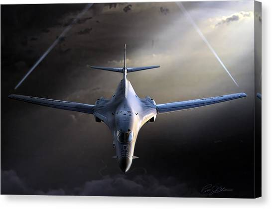 Cold War Canvas Print - Bad To The Bone by Peter Chilelli