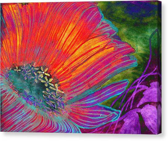 Badflower Canvas Print