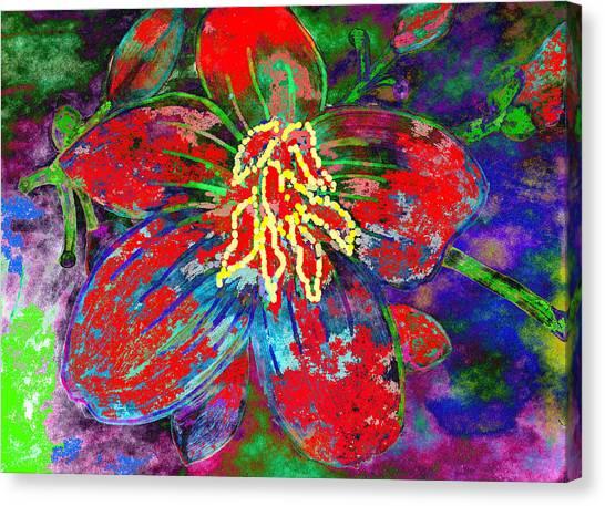 Badflower2 Canvas Print