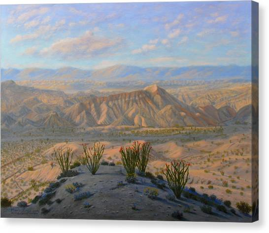 Canvas Print - Badlands by Mark Junge