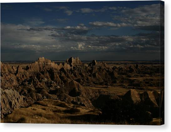 Badlands National Park Canvas Print