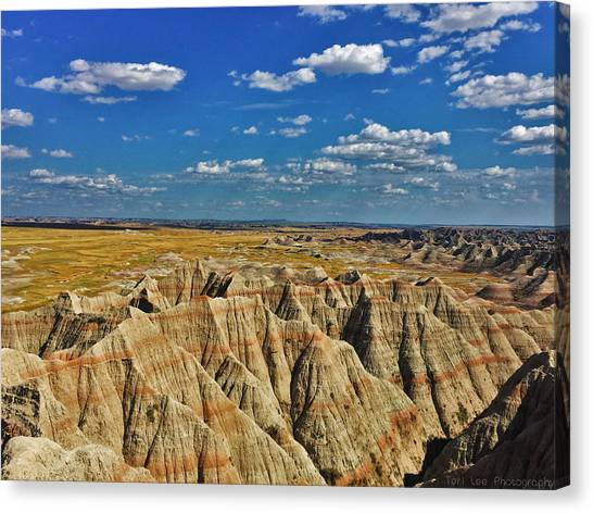 Badlands To Plains Canvas Print