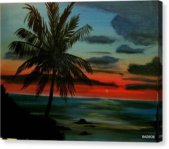 Badtpalm Canvas Print