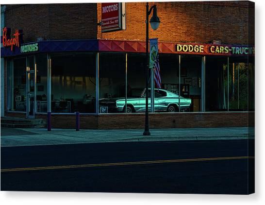 Bagott Motors Canvas Print