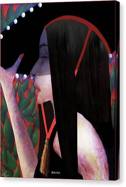 Baha Canvas Print